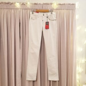 🆕7 for all mankind limited edition white👖